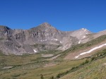 Crystal Peak in the Tenmile-Mosquito Range