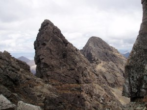 Am Basteir in the Black Cuillin