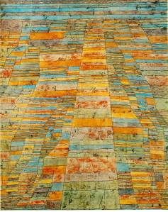 "Paul Klee's ""Highways and Byways,"" 1929"