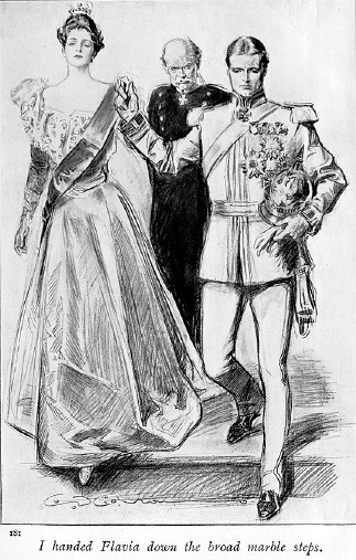 This Flavia was drawn by Charles Dana Gibson,