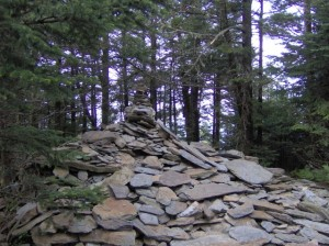 The summit of LeConte.  This is not why we climbed it.