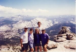 Mt. Hoffmann---we look better than we feel