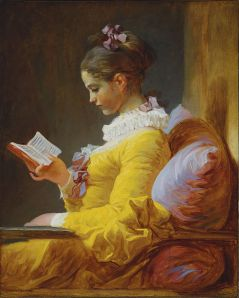 """The Reader"" by Fragonard"