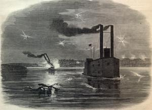 The run past the Vicksburg blockade