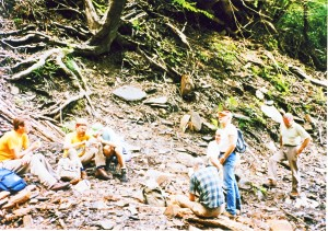 This was a return visit to the washout, around 1993