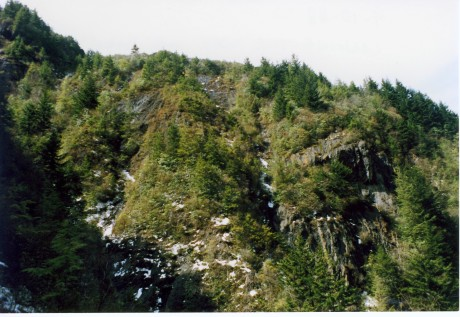 This is typical of the terrain in the upper valleys