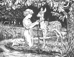 """""""Brother and Sister"""" / illus. by H.J. Ford"""