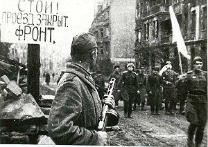 Surrender of German troops in Breslau