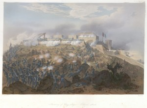 Nebel's work features Pillow's division in the foreground