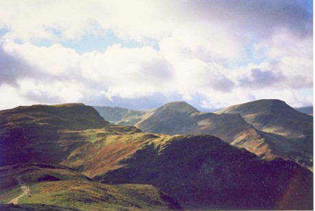 Between High Spy and the Cat Bells