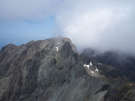 Inaccessible Pinnacle on Sgurr Dearg