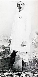 J.L. de Villiers in garb he used to escape prison camp