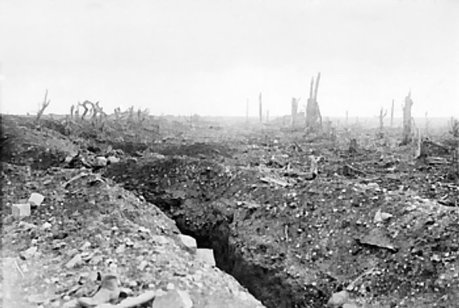 Reitz arrived near Bapaume after the road had reached this state