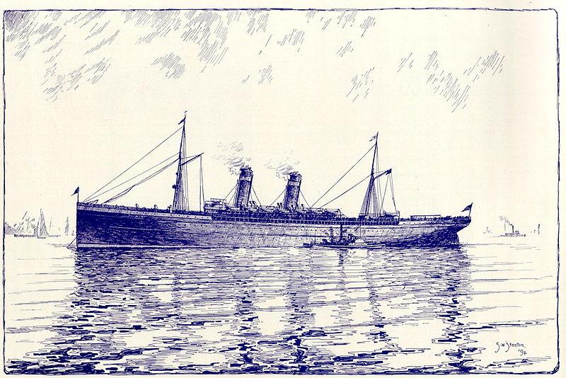 GRETA GARBO – on the Atlantic in 1925 and 1935… | Cruising The Past