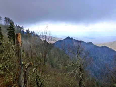 From A.T. toward Horseshoe Mountain.