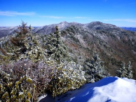 View toward Waterrock Knob.