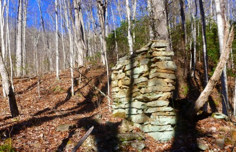 Chimney of homesite.