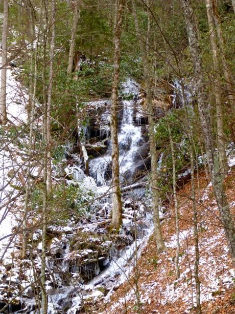 Upper cascade.