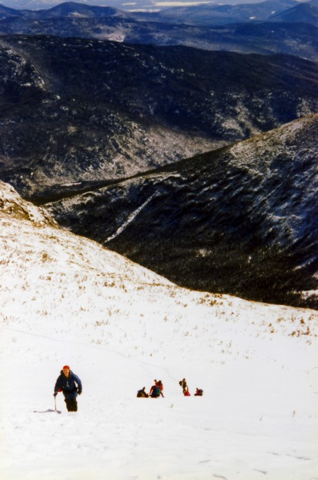 Above Tuckerman Ravine.
