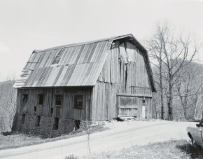 Barn used by Herrick Brown in Cherokee Orchard.