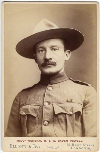 Robert Stephenson Baden-Powell.