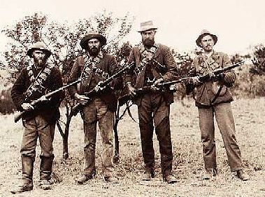 Boer fighters.