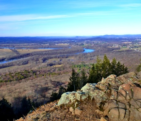 View from Mt. Holyoke to the Connecticut River.