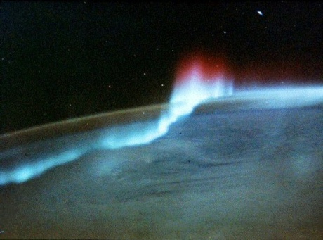 Aurora from space.