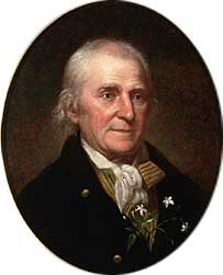 William Bartram, 1739-1823. Explorer and naturalist.