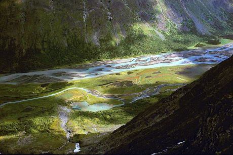In Sarek National Park (Wikimedia image)