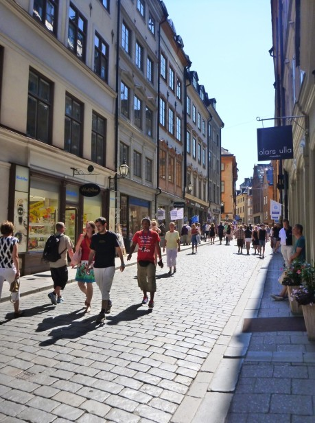 Streets of Gamla Stan .