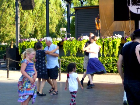 Dancers of all ages.