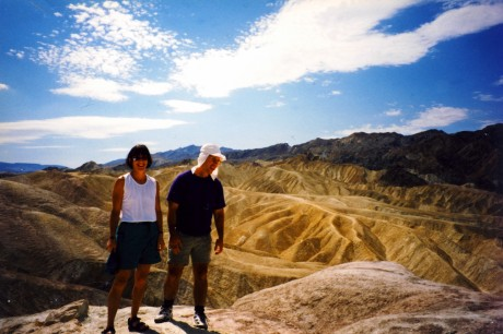 Helen and Bob at Death Valley.