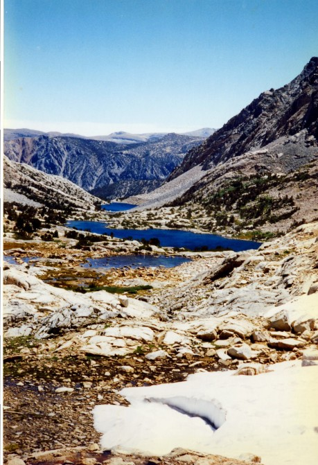 Typical above-treeline scenery in the Sierras.