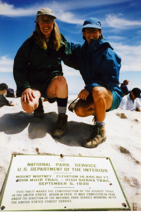 Jenny and Helen, conquerors of Mt. Whitney.
