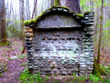 Stone structure from old CCC camp.